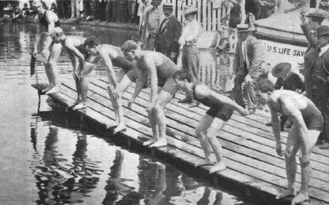 Start_of_100_yards_swimming_during_1904_Summer_Olympics